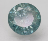 CERTIFIED 3.74 CARAT GREEN BLUE SI3 ROUND BRILLIANT NATURAL LOOSE DIAMOND 10.04MM 3VG *360 VIDEO & PROFESSIONAL IMAGES