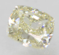 Certified 0.89 Carat J Color VVS1 Cushion Natural Loose Diamond For Ring 5.67x5.11mm  *360 VIDEO & PROFESSIONAL IMAGES