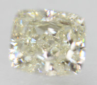 Certified 0.82 Carat H Color VVS2 Cushion Natural Loose Diamond For Ring 5.41x4.78mm  *360 VIDEO & PROFESSIONAL IMAGES