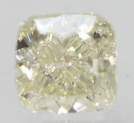 Certified 0.71 Carat G Color VVS2 Cushion Natural Loose Diamond For Ring 4.62x4.56mm  *360 VIDEO & PROFESSIONAL IMAGES