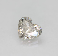 Certified 1.22 Carat G Color SI2 Heart Shape Natural Loose Diamond For Ring 7.74x6.8mm  *360 VIDEO & PROFESSIONAL IMAGES
