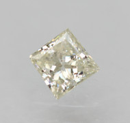 Certified 0.21 Carat G Color VS2 Princess Natural Loose Diamond For Ring 3.38x3.33mm  *360 VIDEO & PROFESSIONAL IMAGES