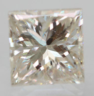 CERTIFIED 0.60 CARAT G COLOR VS2 PRINCESS NATURAL LOOSE DIAMOND FOR RING 4.49X4.47MM  *360 VIDEO & PROFESSIONAL IMAGES