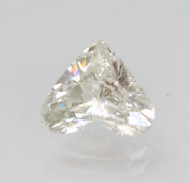 CERTIFIED 1.08 CARAT F COLOR VS1 HEART NATURAL LOOSE DIAMOND FOR RING 7.45X6.56MM  *360 VIDEO & PROFESSIONAL IMAGES