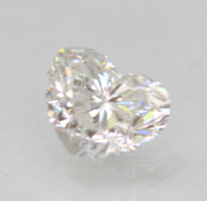 CERTIFIED 0.71 CARAT D COLOR VVS2 HEART SHAPE NATURAL LOOSE DIAMOND FOR RING 6X4.86MM 2EX *360 VIDEO & REAL IMAGES