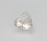 CERTIFIED 1.00 CARAT D COLOR SI1 HEART SHAPE NATURAL LOOSE DIAMOND FOR RING 6.99X6.64MM 2VG *360 VIDEO & REAL IMAGES