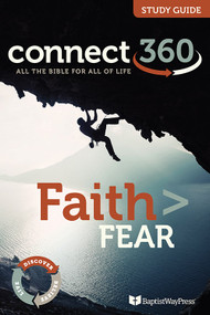 13 lesson Bible study guide on helping Christians cast off fear and take hold of their faith.