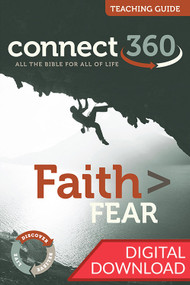 This digital teaching guide of the Faith Greater than Fear Bible study contains both commentary and teaching plans to help lead the Faith > Fear study.