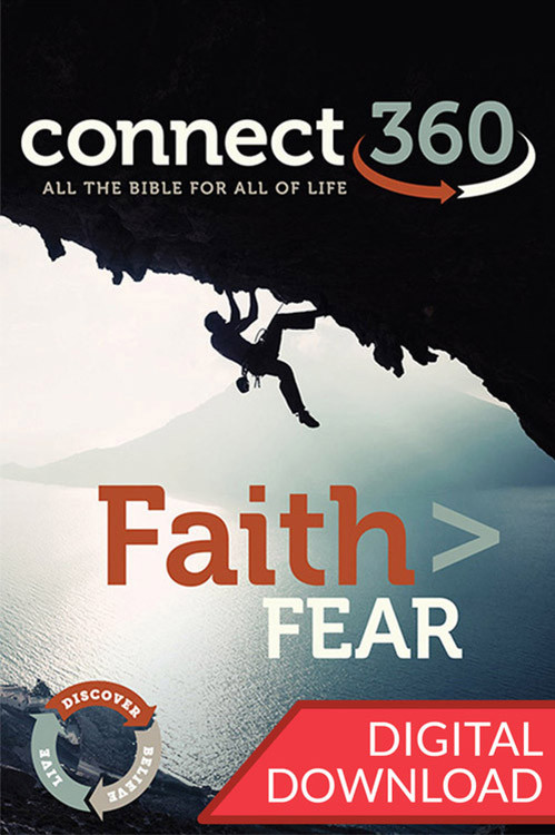 This digital Bible commentary will provide in-depth exploration into passages that will help Bible study teacher lead their class to cast off fear and take hold of their faith.
