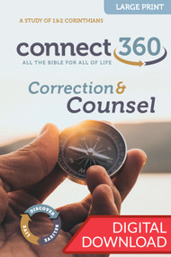 Correction & Counsel - Digital Large Print Study Guide