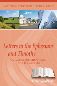 Contains teaching plans and Bible commentary on Ephesians and the Letters to Timothy to lead a Bible study. 13 lessons; Paperback; 155 pages.