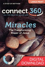 Miracles  (Matthew) - Digital Large Print Study Guide