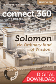 Solomon: No Ordinary Kind of Wisdom (1-2 Chronicles) - Digital Study Guide