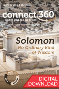 Solomon: No Ordinary Kind of Wisdom (1-2 Chronicles)  - Premium Commentary