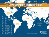 Hunger 2021 Map of Ministries English