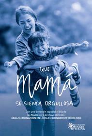 Hunger 2021 Dia de Las Madres Spanish