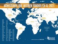 Hunger 2021 Mapa de Ministerios