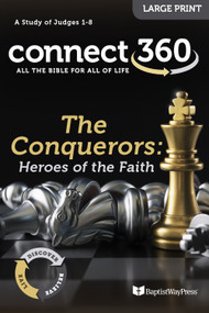 The Conquerors: Heroes of the Faith (Judges) - Large Print Study Guide