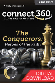 The Conquerors: Heroes of the Faith (Judges) - Digital Large Print Study Guide