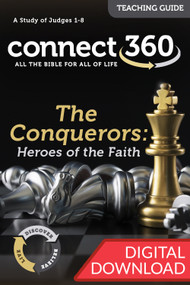 The Conquerors: Heroes of the Faith (Judges) - Digital Teaching Guide
