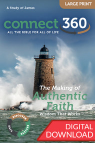 The Making of Authentic Faith (James) - Digital Large Print Study Guide