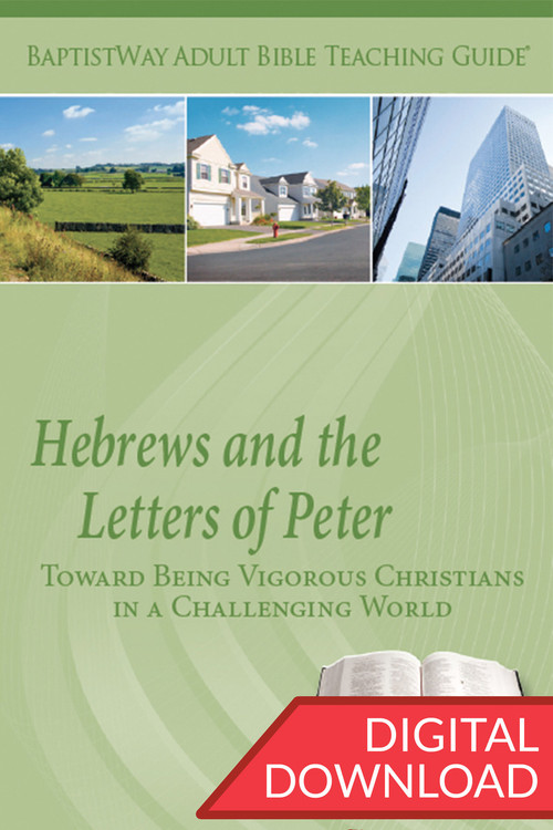 Digital teaching guide of Hebrews and 1st and 2nd Peter, contains commentary and teaching plans. 7 lessons on Hebrews & 6 lessons on 1-2 Peter. PDF; 158 pages.