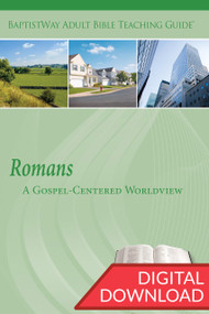 Digital resource for leaders of small groups to teach a Bible study on Romans, complete with commentary and teaching plans. 13 lessons; PDF; 151 pages.