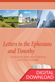 Dr. Dennis Parrot provides a thorough set of teaching plans for each lesson of this Bible study on Ephesians and Timothy.