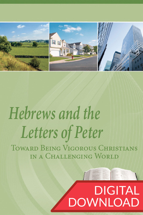 Bible study on Hebrews and 1-2 Peter, teaching plans by Dr. Dennis Parrott