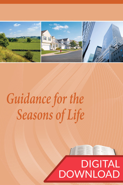 Digital teaching plans with instructions on leading a Bible study on the various seasons of adult life. PDF.