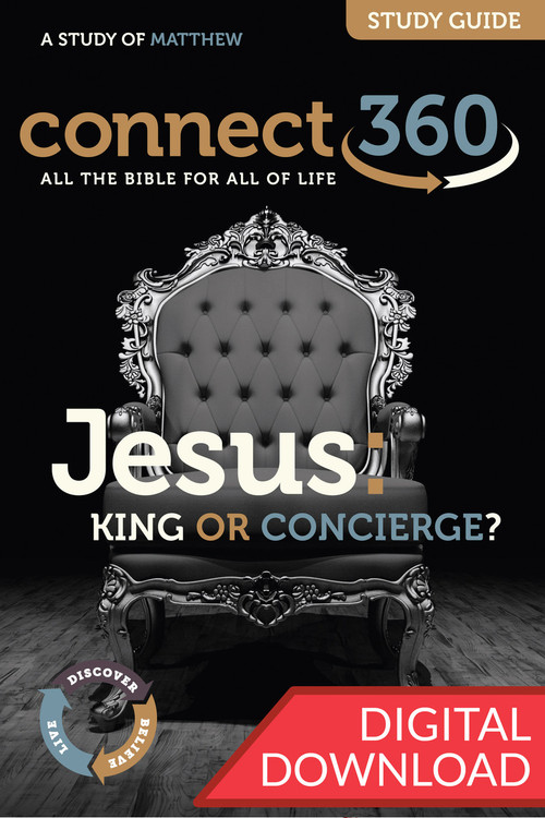 Digital Bible study on Matthew that will re-awaken us to the majesty of King Jesus and challenge us to submit ourselves to him, complete with devotional commentary. 13 lessons; PDF. 153 pages.