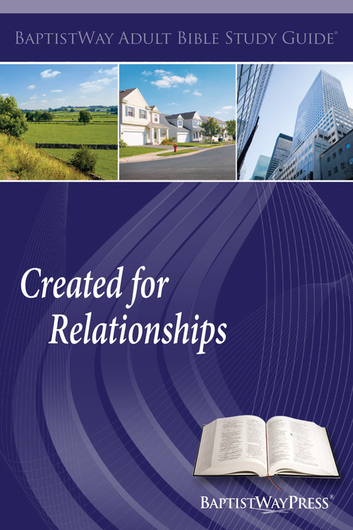 Bible study guide for personal or group settings that covers both Old and New Testament passages on different types of relationships. Paperback; 145 pages.