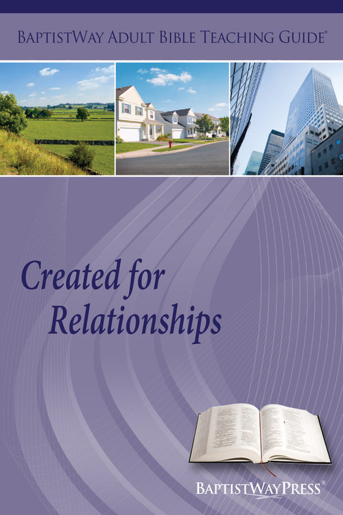 Bible commentary and 2 sets of teaching instructions for leading an adult Sunday school class on learning about 13 different relationships. 13 lessons; Paperback; 149 pages.