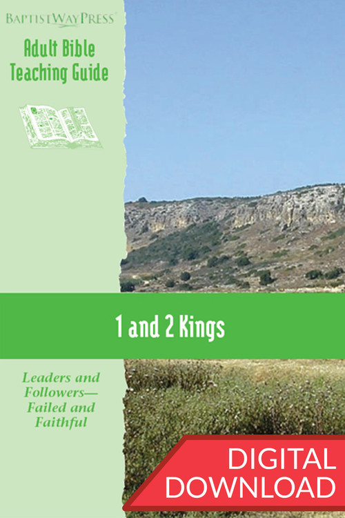 Digital teaching guide on 1 & 2 Kings. 13 lessons; PDF; 173 pages.