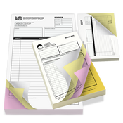 "3.5"" x 8.5"" NCR Forms"