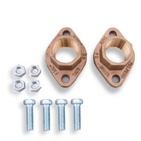 "Taco 110-253BF 1 1/4"" Bronze Threaded Freedom Flange SET"