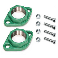 "Taco 110-254 1-1/2"" W/O HEX Head Ductile Iron Freedom Flange SET"