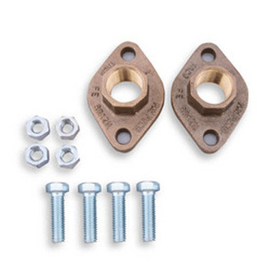 "Taco 110-525BSF 1-1/4"" Bronze Sweat Freedom Flange SET"