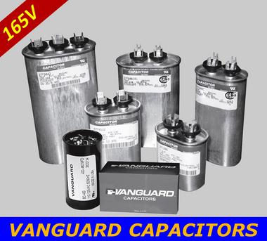 VANGUARD Motor Start Capacitors BC-233M-165