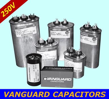 VANGUARD Motor Start Capacitors BC-36M-250-S