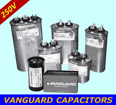 VANGUARD Motor Start Capacitors BC-43M-250