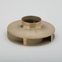 """Bell & Gossett 118627LF - 4-3/4"""" OD Brass Impeller"""