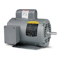 Baldor L1318T 1Hp Motor 143T 1Ph 1725 + Free Shipping
