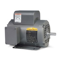 Baldor L1410TM 5Hp Motor 184T 1Ph 1725 + Free Shipping
