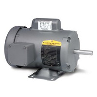 Baldor L3510A 1Hp Motor 56/56H 1Ph 1725 + Free Shipping