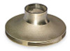 "Bell & Gossett 118436 - 3-3/8"" OD Brass Impeller"