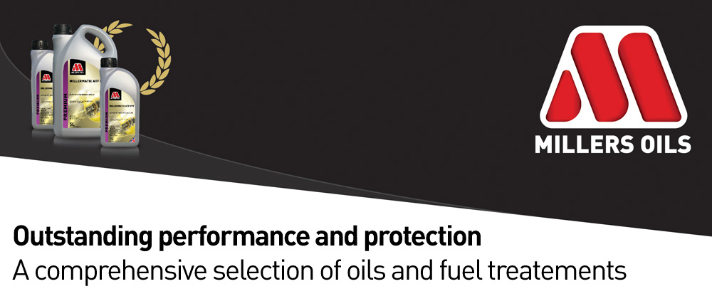 Millers Oils Engine Oils and Fuel Treatements