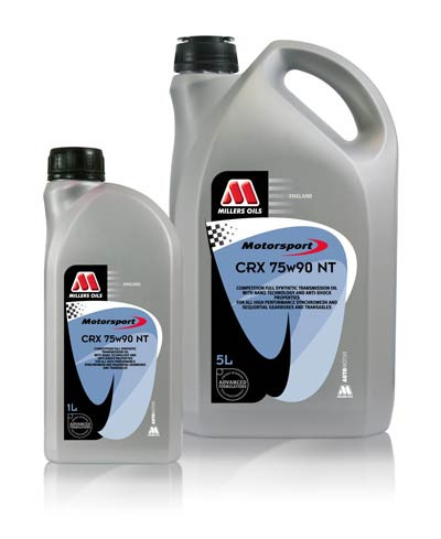 "A new addition to the CRX NT range fitting nicely between the 75w90 and 75w140 grades. A competition heavy-duty fully synthetic transmission oil for highly stressed applications. A blend of synthetic base stocks and shear stable viscosity modifiers. Incorporates ""Nano Technology"" additive chemistry to significantly reduce internal frictional and power losses, combined with extreme pressure additives."