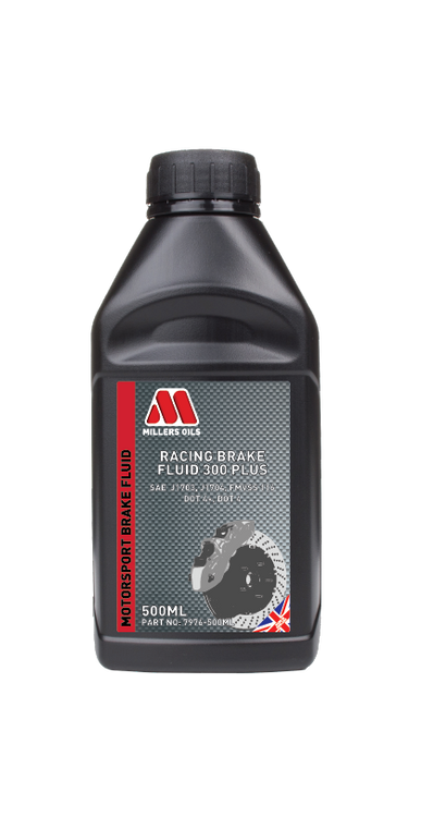 Extra high boiling point (above 310°C) brake fluid exceeding the requirements of SAE J1703, SAE J1704 and FMVSS 116 DOT 4 for use in competition braking systems.