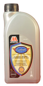 High viscosity solvent refined mineral oils with low friction additive treatment. Specifically formulated for worm and other types of steering box.